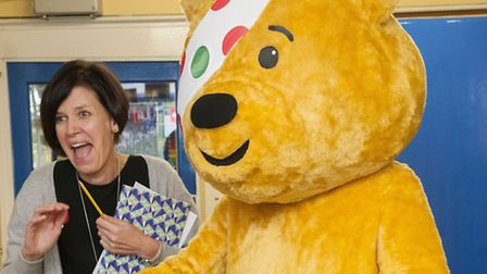 Children in Need is taking place tomorrow night
