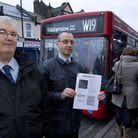 Local campaigners Paul Dogan and John Darnell wrote the Standing Room Only report about the busy W19