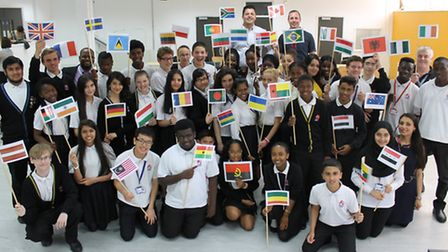 Staff and students at Eastlea Community broke the world record