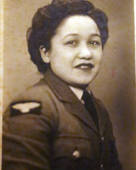 A picture of Denise Groves' mother Patricia who was in the Women's Royal Air Force