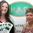 Rosheen Davis and Christina Stevens from Havering Association for people with disabilities