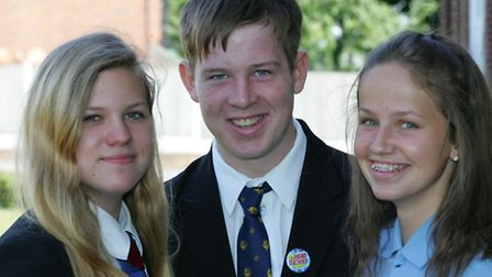 Have a go hero's Sydnie Barnes, Sam Taylor and Ellie Noble