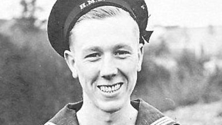 Ernest Dale as a young man in his uniform