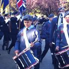 A Remembrance Day parade last year