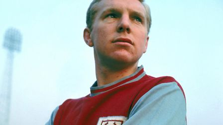 West Ham legend Bobby Moore was the first Recorder columnist