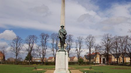 The Ilford War Memorial, which was unveiled in 1922. [Picture: Ron Jeffries]