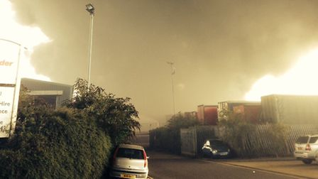 A fire at the Shanks waste recycling plant in Rainham released 'rancid' smells in the area last mont
