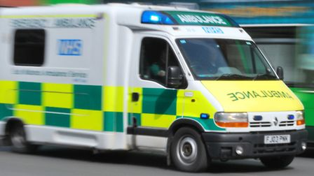 London Ambulance Services attended an address in Bramston Close, Hainault, after there were reports