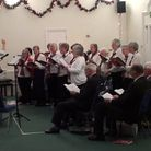Salway Singers in action on Wednesday