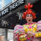 Marc Seymour is returning after a four year hiatus to the role of the dame in this year's pantomime