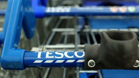 Tesco Trolleys have been targeted. Picture: PA