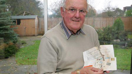 Retired Roland Vials from Emerson Park, received a letter last Tuesday - a letter dated August 1, 20