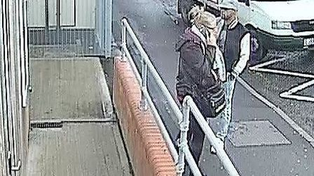 BTP want to speak to these people over the theft