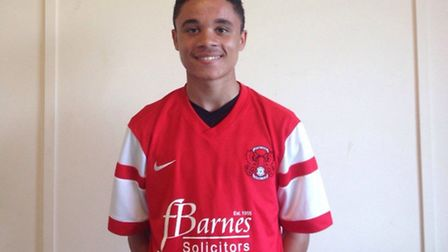 Leyton Orient's Jay Beckford has been called up for England under-16s training camp in January. Pic: