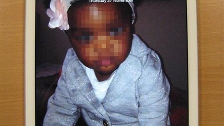 This iPad was seized by police