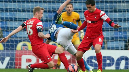 Nathan Clarke (left) is hoping for a win on his return to Yorkshire when Leyton Orient travel to Bar