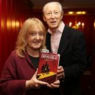 Author Michelle Magorian with Murray Melvin launches her new book Impossible! at the Theatre Royal S