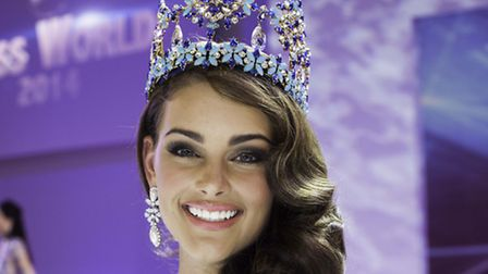 Newly crowned Miss World, Rolene Strauss, representing South Africa. Photo: Adrian Frisk
