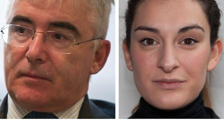 Welfare Reform Minister Lord Freud and Shelter's Zorana Halpin