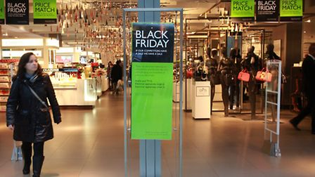Black Friday offers at John Lewis in Westfield Stratford City
