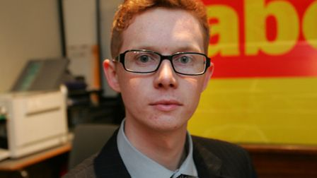 Labour's prospective parliamentary candidate for Romford Sam Gould