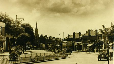 Cranbrook Road, by Beal Road, in 1951