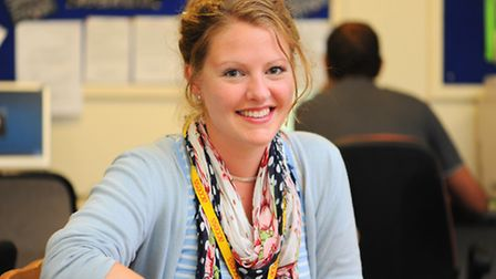 Jenna Brock, access outreach team coordinator at the Access Community Trust.Picture: James Bass