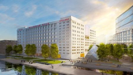 ...and an artist's impression of the proposed redevelopment