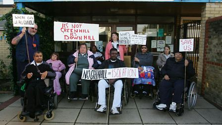 Disabled people campaigned against the closure of the centre, which will now become a gym