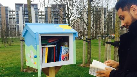 'Bird table' library making a good read