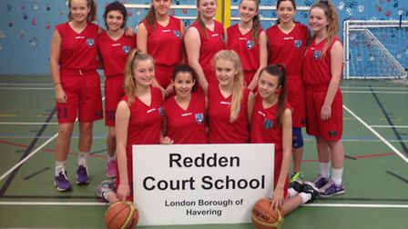 Redden Court's basketball girls lost to Palmers