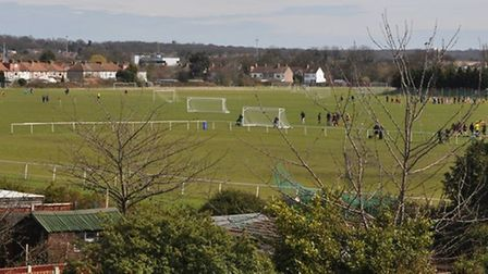 The Oakfield playing fields in Redbridge (pic courtesy of @SaveOakfield)