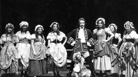 Laura Nayman in the Beggar's Opera at the Kenneth More Theatre in 1975