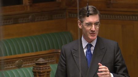 Jacob Rees-Mogg in the House of Commons (Image: PA)