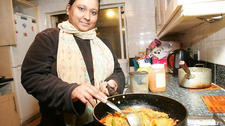 Rumi Sultana prepares some of her favourite dishes.