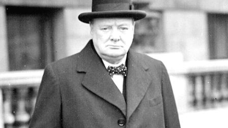 Churchill on his way to a War Council meeting. Picture: PA