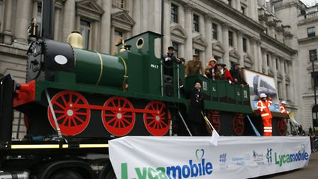 Havering's float in the New Year's Day parade