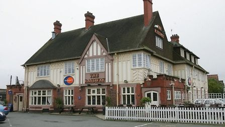 The Railway Hotel where the deadly dinner was served