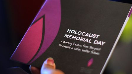 Tuesday's event will feature a talk from Holocaust survivor Rudi Oppenheimer