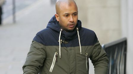 Afsar Ali arrives at the Old Bailey Picture: Steve Poston