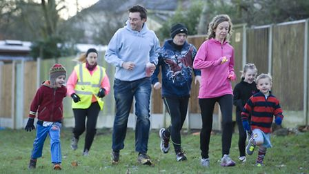 A free 2km run in Harrow Lodge Park FOR children from 4 to 14 years of age (photo: Arnaud Stephenson