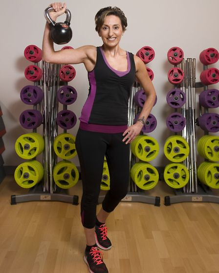 Personal trainer Maria Louca from Better Gym who is helping people with their resolutions (photo: Ar