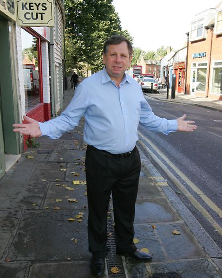 Cllr Jeff Tucker is against any plans to work with other London boroughs