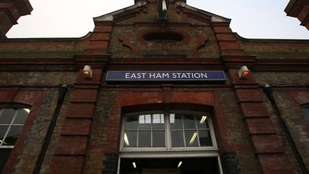 The man was approached outside East Ham station