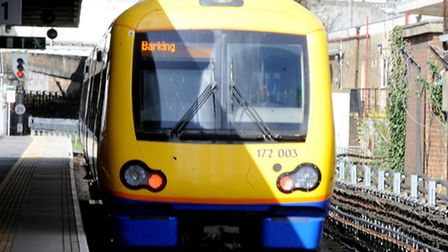 Overcrowding on trains to Barking has become a major issue for campaigners (Pic by David Mirzoeff)