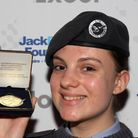 Air cadet Luiza Stewart, from Forest Gate, received a Jack Petchey achievement award