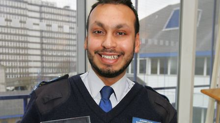 Police achievement awards.