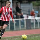 Hornchurch striker George Purcell (pic: Mick Kearns/TGSPHOTO)