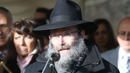 Rabbi Sufrin from Chabad Lubavitch