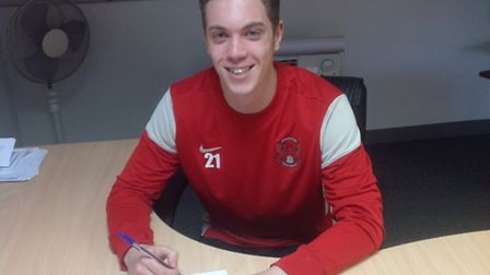 Charlie Grainger has signed a contract extension at Leyton Orient. Pic: Leyton Orient FC